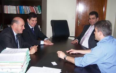 PGE recebe presidente da Associação Nacional dos Procuradores de Estado (Anape). Marcello Terto