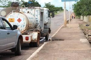 Entre os produtos de alto risco estava um caminhão que suspostamente transportava amônia
