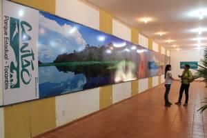 Abertura oficial do uso público do Parque Estadual do Cantão