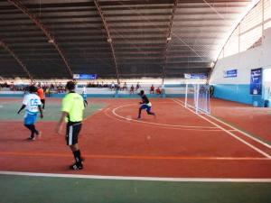 Futsal é uma das três modalidades em disputa nos Jogos Abertos
