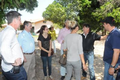 Diretores russos se mostraram satisfeitos com o potencial do Tocantins para o cultivo de grãos