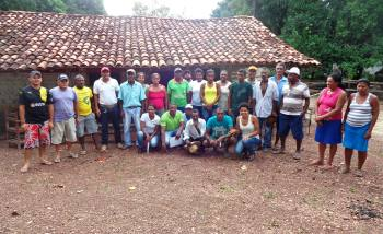 No encontro, os extensionistas do Ruraltins orientaram os produtores sobre previdência social e associativismo rural