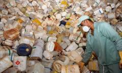 No Tocantins, mais de 266 mil quilos de embalagens vazias de defensivos agrícolas foram encaminhados para o destino correto