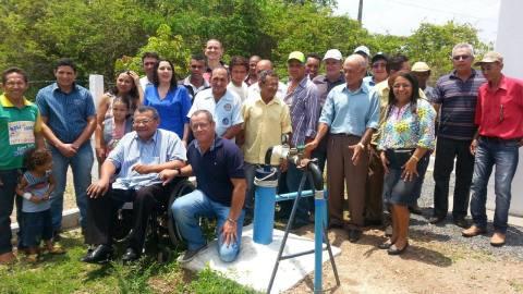 População Assentamento São Sebastião no município de Santa Fé do Araguaia. O benefício irá atender 12 famílias que vivem no assentamento.