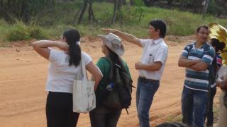 Capacitação a respeito de cuidado com o solo à comunidade de Mateiros