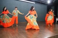 O Carimbó, dança típica da cultura paraense, foi apresentado pelos alunos do Colégio Girassol de Tempo Integral Augusto dos Anjos