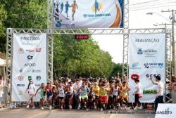 Largada da 12ª edição da Meia Maratona do Tocantins