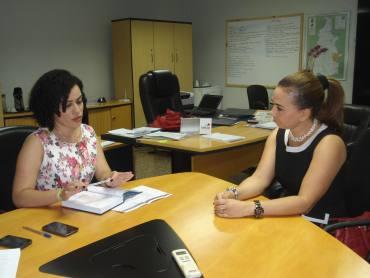 Gleidy Braga e Zenaide da Silva planejam juntas uma gestão humanitário para a ressocialização de adolescentes
