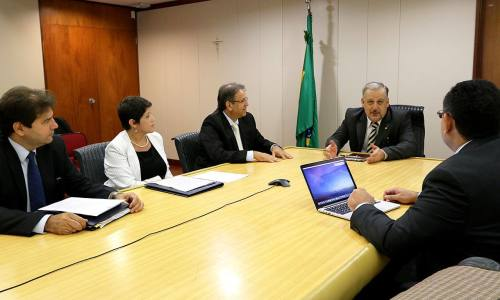 O processo de modernização da Fundação Redesat foi pauta de reunião do governador com ministro das Comunicações