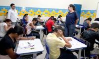 Em todo o Tocantins, estudantes concluintes do ensino fundamental e do ensino médio realizaram as provas do Salto 2015