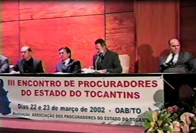 III Encontro de Procuradores do Estado do Tocantins - 2002