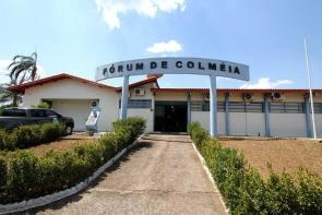 Comarca de Colmeia apresenta projeto de penas e medidas alternativas