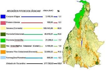 O documento servirá de embasamento para a minuta do Projeto de Lei que dispõe sobre a Política Florestal do Estado do Tocantins