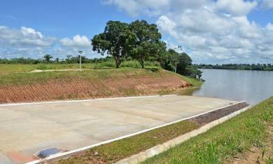 A região do Bico do Papagaio recebeu uma obra que promete acelerar o desenvolvimento do extremo-norte do Estado: Ecoporto Praia Norte
