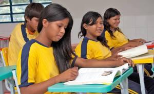 No Estado, são sete povos, com aproximadamente 5.600 alunos indígenas atendidos na rede estadual de ensino