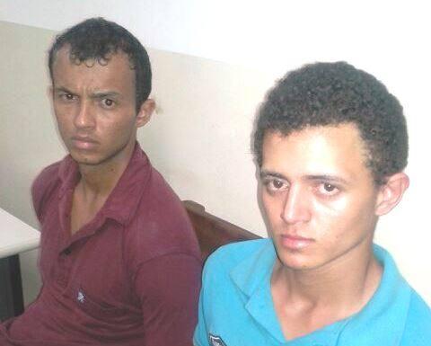 Jhon Leno Pereira Freitas, 25 anos, e Lucas da Silva Lima, 19 anos