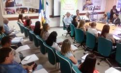 O encontro foi realizado na tarde dessa sexta-feira, na sala de reuniões da Seduc