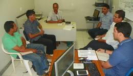 Grupo formado pela Seagro, Embrapa e Unitins discute sobre a cadeia produtiva do arroz no Estado