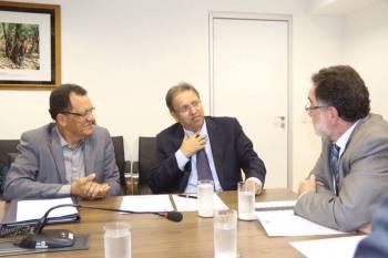 As atividades de extensão rural no Tocantins foi tema da agenda de audiências do governador Marcelo Miranda e do presidente do Ruraltins Pedro Dias, em Brasília - Pedro Barbosa/Assegov