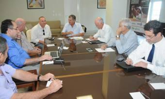 Na manhã desta terça-feira, secretários de Estado participaram de uma reunião com o superintendente do Prodoeste, Rivaldo Nascimento