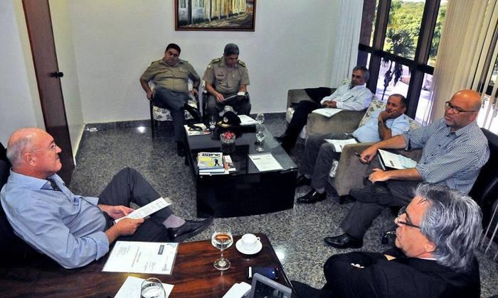 Secretários se reuniram nesta quinta-feira, 28, para discutir ações do Governo no Festejo do Senhor Bonfim de Natividade