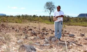 O trabalhador rural Rosiel Martins de Brito é natural do distrito de Bielândia, onde está localizado o monumento