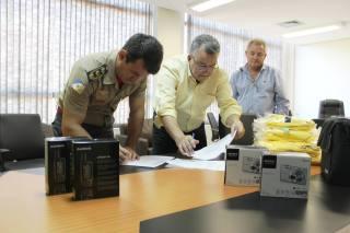 Presidente do Naturatins, Ricardo Fava e o Tenente-Coronel, Reginaldo Leandro.JPG