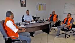 O diagnóstico sobre a seca no sudeste do Tocantins foi o tema da reunião entre a o presidente da ATS e representantes da Defesa Civil