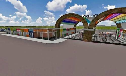 A estrutura do 9ª edição do Salão do Livro abrigará 85 estandes e um auditório principal com capacidade para 704 pessoas