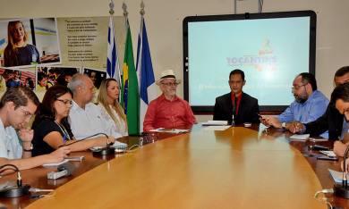 O secretário da Educação, Adão Francisco, anunciou a estrutura do 9ª edição do Salão do Livro