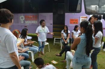 Unidade móvel leva diferentes tipos de serviços às mulheres em todas as regiões do Estado (Foto: Miller Freitas / Governo do Tocantins)