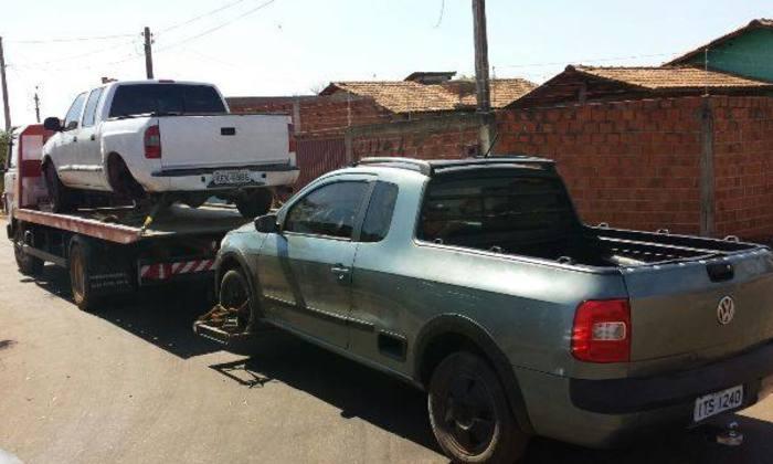 Veículos apreendidos pela Polícia Civil em Porto Nacional
