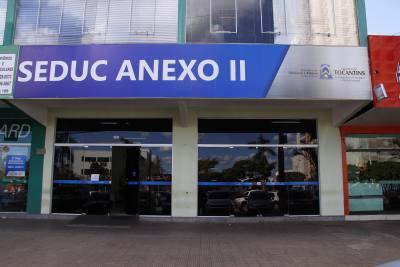Um dos locais de realização das aulas será o Anexo da Seduc localizado na Avenida JK, saída para Paraíso