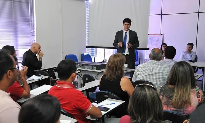 Atores socioeducadores participam de curso de capacitação