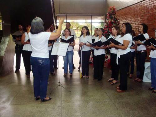 A Seduc tem tradição com as apresentações do Coral