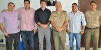 Coronel Benvindo visita o presidente da ATR Jota Patrocinio