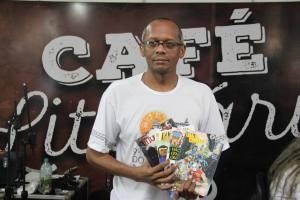 Geuvar Silva de Oliveira trouxe ao público toda a alegria e significado da produção em quadrinho no Tocantins