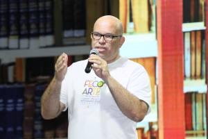Melck Aquino, secretário da Cultura reforçou o compromisso do governador Marcelo Miranda em realizar o Salão do Livro