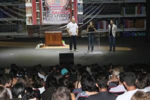 A solenidade oficial marcou o encerramento da 9ª edição do Salão do Livro do Tocantins