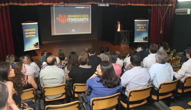 Na manhã desta quarta-feira, 30, o Teatro de Bolso do Memorial Coluna Prestes, recebeu o projeto Anhanguera Itinerante, uma iniciativa do Grupo Jaime Câmara.