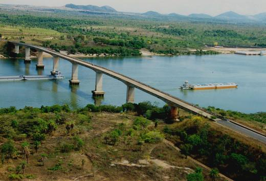 A hidrovia Araguaia-Tocantins faz parte de um projeto maior que pretende oferecer flexibilidade a navegação no interior do Brasil