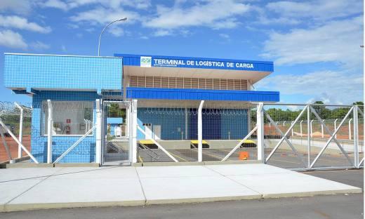 O Terminal de Logística de Cargas (Teca) irá operar com a movimentação de carga nacional
