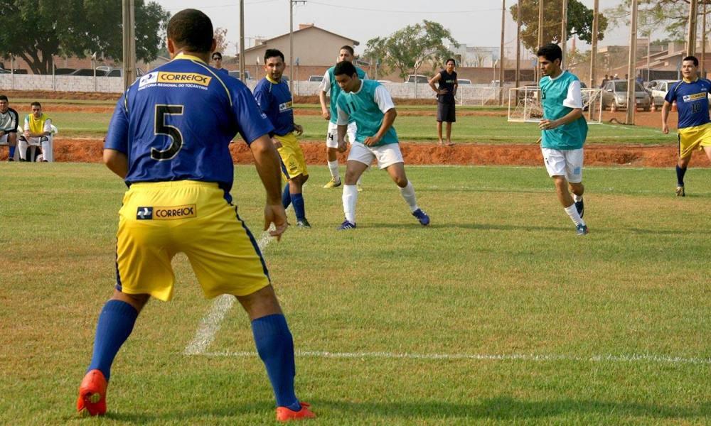 Time dos Correios continua na disputa dos Jogos dos Servidores. Washington  Luiz   Governo do Tocantins f8869a650cb00