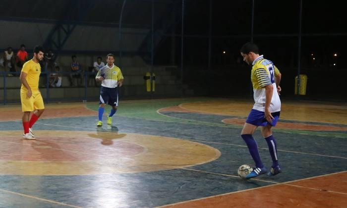 Lace do time da Setas, semifinalista do futsal nos Jogos dos Servidores