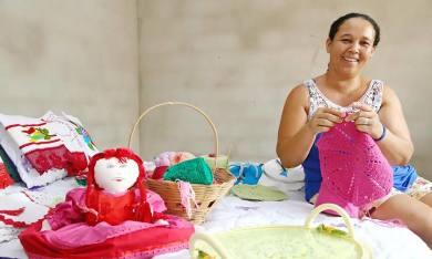 Quem passa pelo projeto Apoiando e Acreditando nas Famílias do Tocantins melhora a renda e se especializa numa atividade profissional