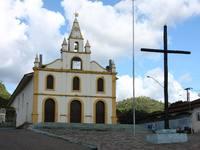 Igreja Matriz de Nossa Senhora dos Remédios, na cidade histórica de Arraias