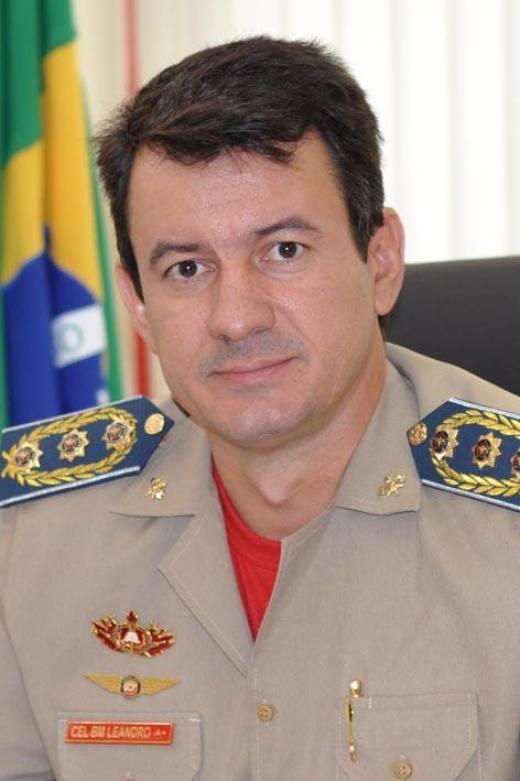 Chefe do Estado Maior do Corpo de Bombeiros, Reginaldo Leandro da Silva