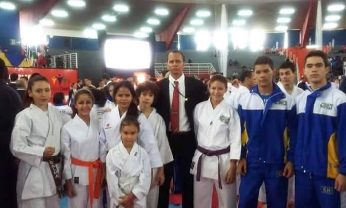 Delegação tocantinense no Brasileiro de Karatê Interestilos