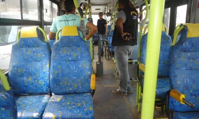 Fiscalização ocorreu entre os últimos dias 16 e 17 nos transportes coletivos