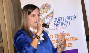 A vice-governadora do Estado, Claudia Lelis, destacou que a data escolhida para o evento ocorre em razão da comemoração do Dia Internacional da Não Violência Contra a Mulher